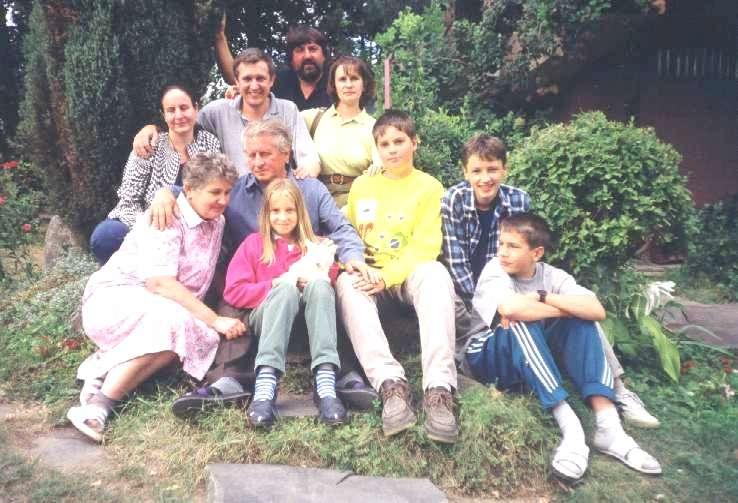 Moja rodina. az én családom. my family